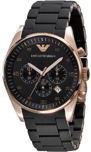 Emporio Armani Chronograph Mens Watch 5905, (emporio armani, watches, dress watches)