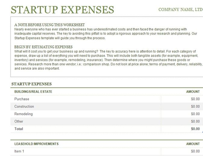 Business Startup Costs Calculator Templates 7 Free Docs Xlsx Pdf Formats Samples Examples Start Up Business Business Budget Template Business Planning