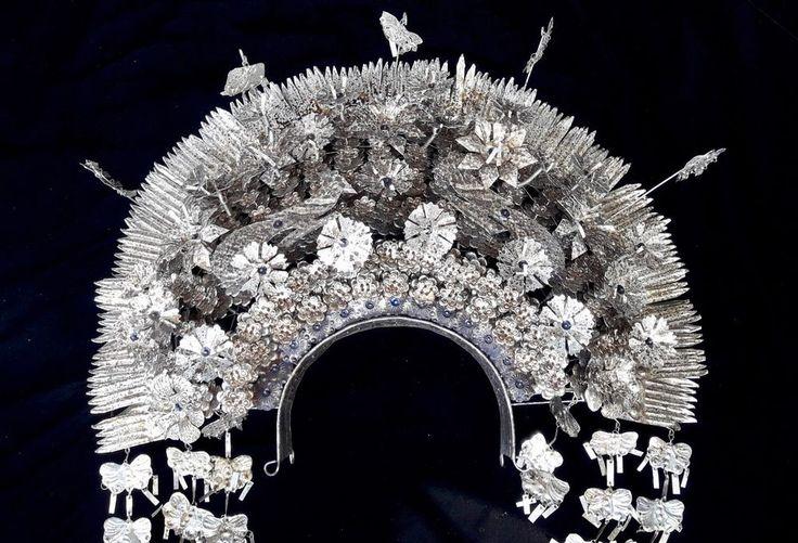 Wedding Ceremonial Hair Pin Padang Sumatra Headdress Crown Art Jewelry Adornment #Indonesianjeweler