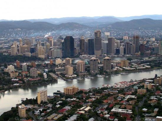 AUSTRALIA: Brisbane. (Photo: Brisbane River.)