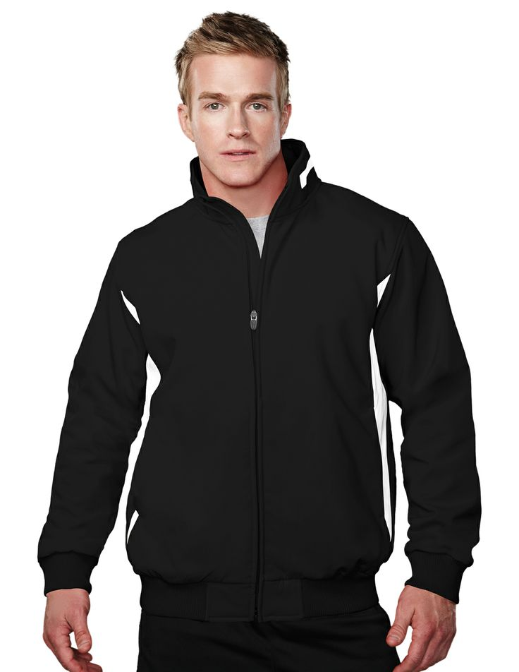 Men's Bonded Stretch Woven Water Resistant Jacket (88% Polyester/12% Spandex) 6430 Prometheus