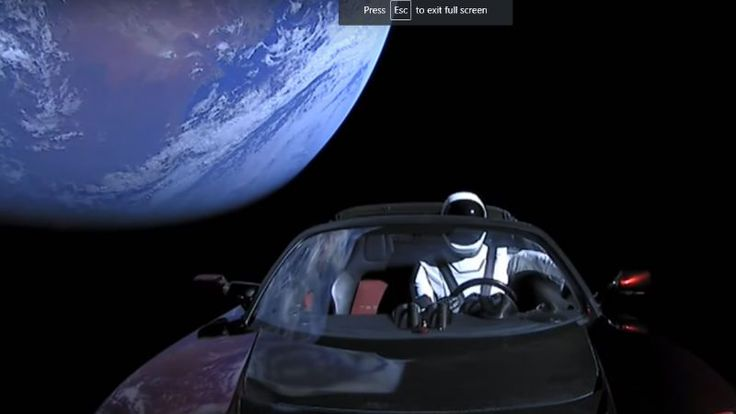 Elon Musks Space Tesla May Crash Into Earth in the Next Million Years  Remember the Telsa Roadster that Elon Musk launched into space last week?  Well three scientists just took a close look at the vehicles orbit over the next million years and they found there is a slight chance the car might crash into Earth or Venus.  Dont panic. The chance is pretty small  somewhere around 6 percent for Earth and 2.5 percent for Venus. And a million years is a very long time  our species has only been…