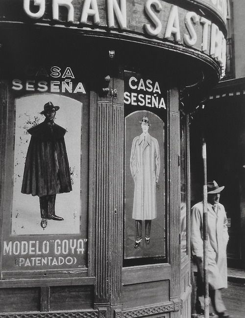 Madrid 1950     Photo: Brassai