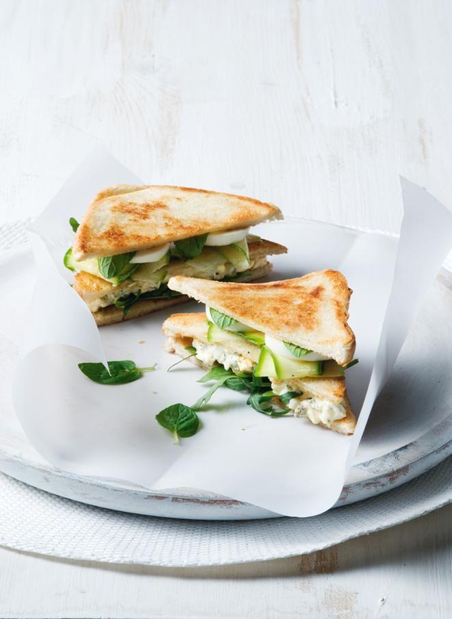 Club sandwich με αβγά