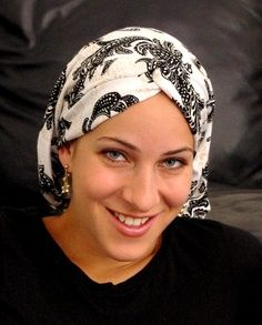sewing patterns chemo head scarves | Snood, Head scarf, Cancer head scarf, chemo scarf, modest head scarf ...