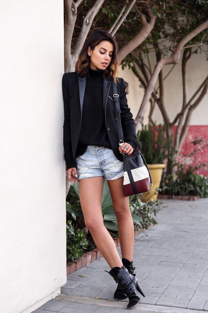 VivaLuxury - Fashion Blog by Annabelle Fleur: MALIBU CASUAL & PROENZA SCHOULER BUCKET BAG