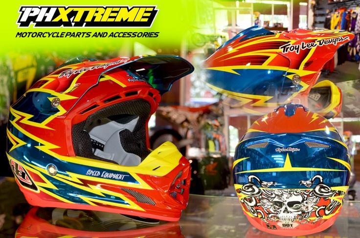 Helmet casco phxtreme MX Motocross Troy Lee Designs