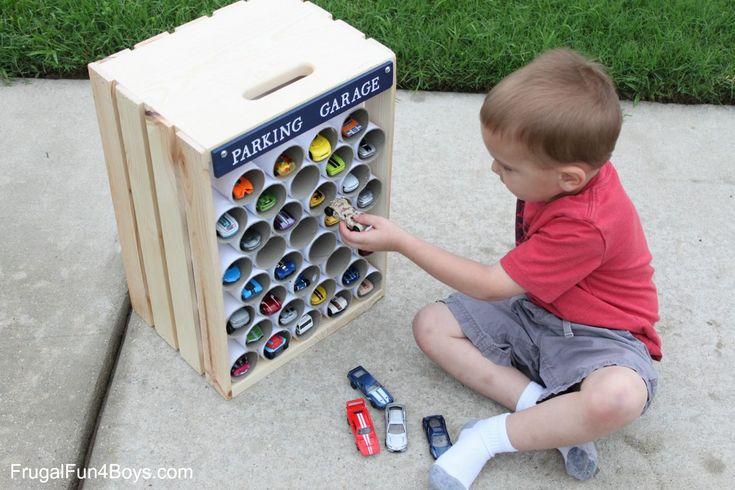 Houden jouw kinderen ook van spelen met autootjes? Bekijk hier de leukste zelfmaakideetjes! - Zelfmaak ideetjes