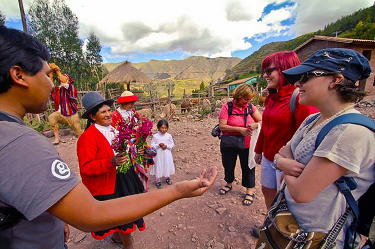 Don't just tour, travel with G Adventures to see how their Planeterra Foundation helps locals through the Peru Women's Weaving Co-op.