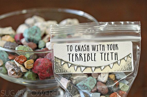 Where the Wild Things Are, Gnash With Your Terrible Teeth Print, Kids Party, Printable Art,  Party Label,  Party Favor, INSTANT DOWNLOAD