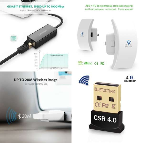 """Test Tester Cable for 4 pin mini USB A 4-Pin mini-USB A to RJ45 6/"""" Cat 5 Wire"""