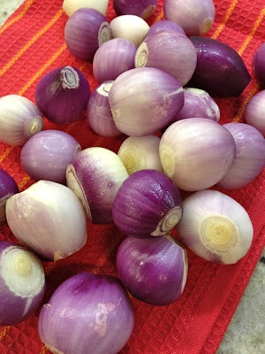 Onions, Pearls and Red on Pinterest