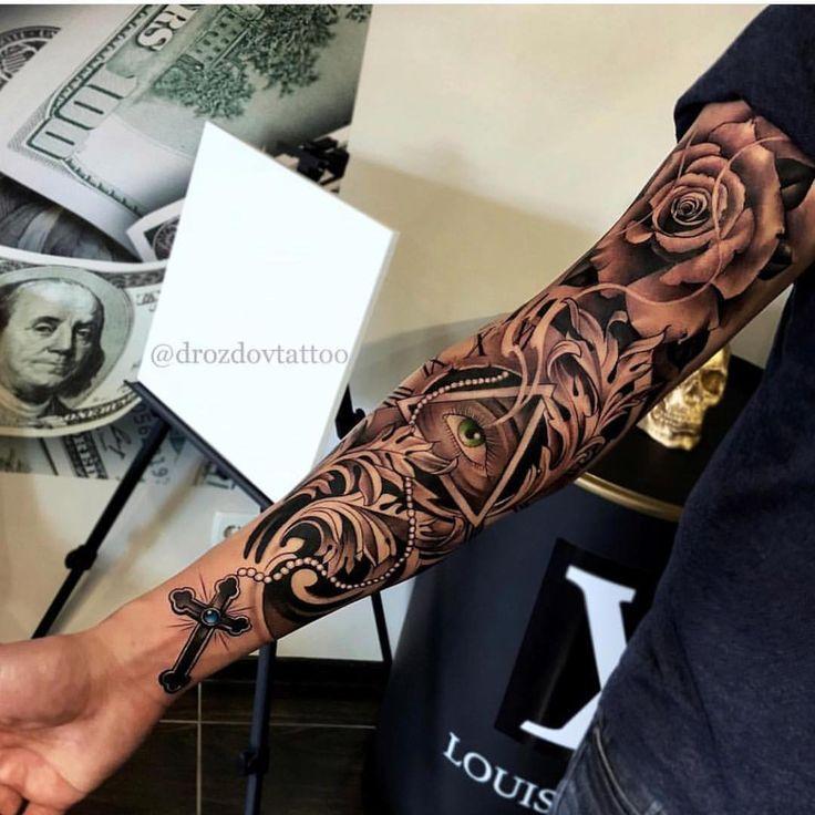 Mein Junge tötet es immer Tattoo von Vladimir Drozdov