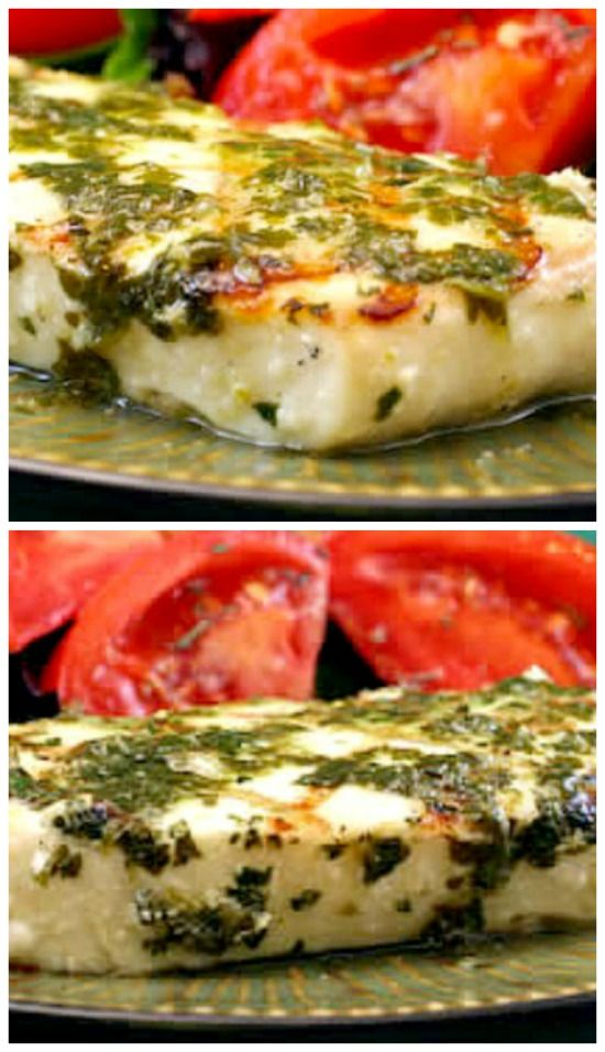 grilled halibut with garlic cilantro sauce grilled halibut ww recipes ...