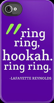 True Blood: Lafayette Reynolds: Ring Ring, Hookah by quote-cases