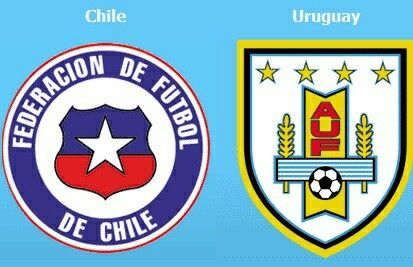 Chile 1 Uruguay 1 in 2011 in Mendoza. Both teams were happy enough drawing this Group C game at Copa America.