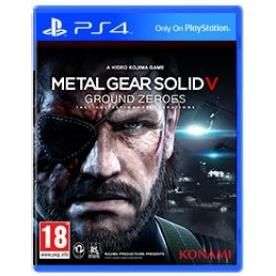 Metal Gear Solid Ground Zeroes Game PS4 | http://gamesactions.com shares #new #latest #videogames #games for #pc #psp #ps3 #wii #xbox #nintendo #3ds