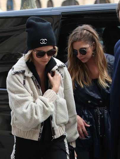 Cara Delevingne And Ashley Benson Had A Post Chanel Cuddle Puddle