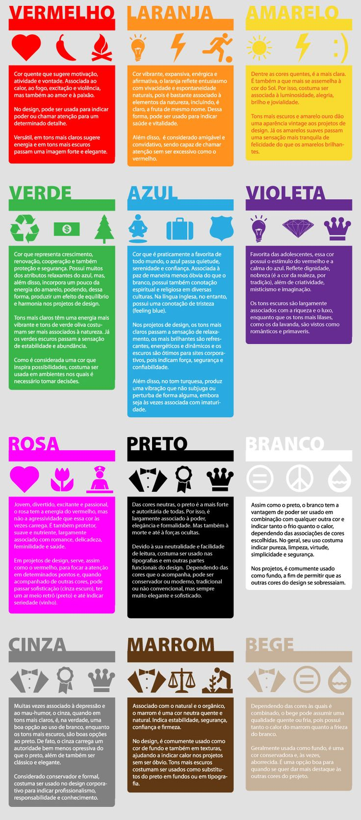 A psicologia das cores no design | Blog SeuLogo.Net - via http://bit.ly/epinner