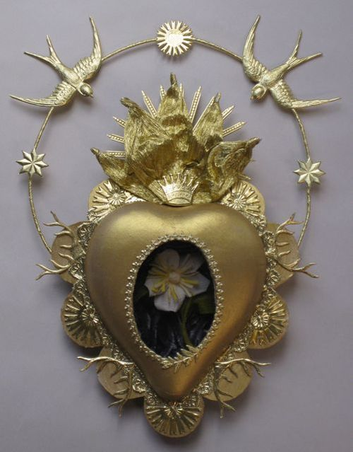 Sacred Heart Reliquary by Ulla Norup Milbrath
