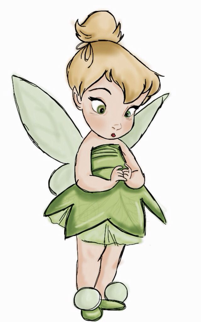 Gallery For gt Tinkerbell As A Baby