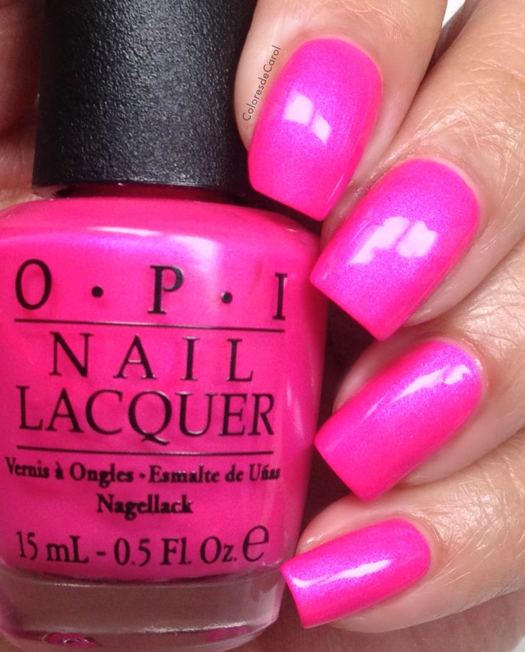 47 best images about Opi Nail Polishes on Pinterest | Hot ...  Opi Nail Polish Hot Pink