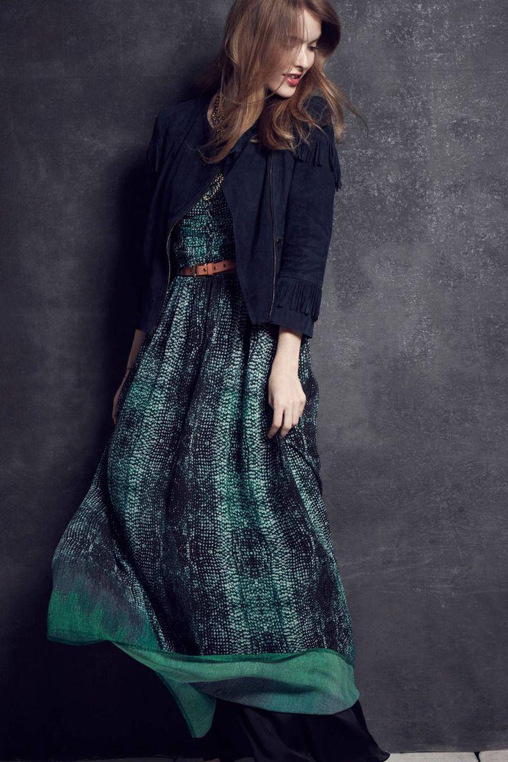 Vernalis Maxi Dress | anthropologie