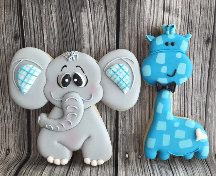 @swordssugars...baby shower elephant & giraffe