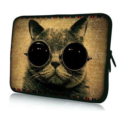 Details about Cat Sunglasses Laptop Sleeve Case For 11.6