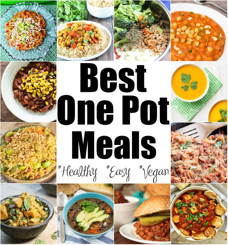 25 of the Best One Pot Meals