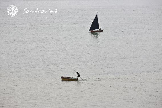 Sea and sailing #santorini #seaside #sailing