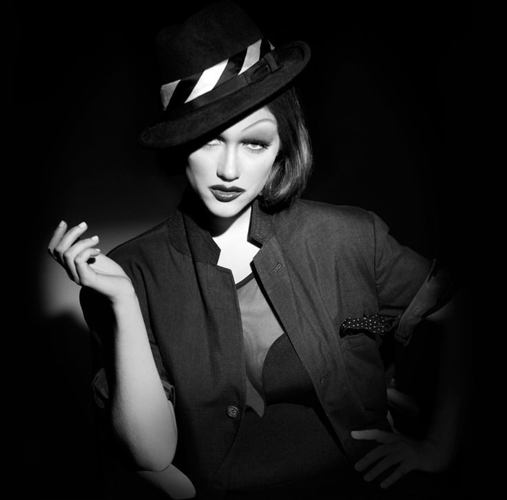 Transformation with Billy B: Nicole Fox to Marlene Dietrich