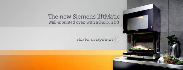 LiftMatic Siemens oven