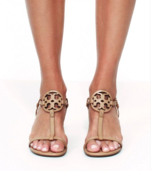 c6ba304a7 Tory Burch Miller Wedge Sandal, Leather : Women's Shoes | Tory Burch ...