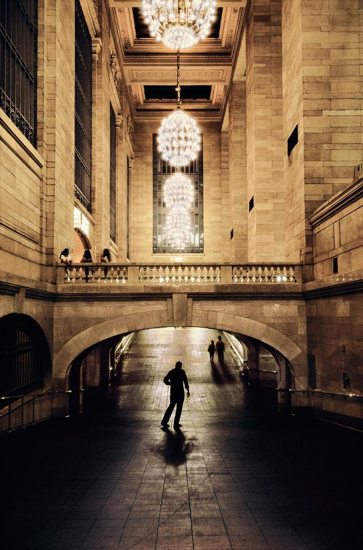 Grand Central Station, New York. Photo by Steve McCurry with one of the last rolls of Kodachrome film