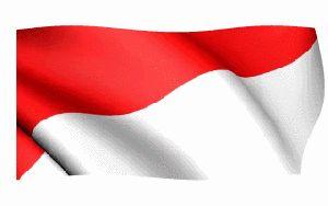 Bendera Merah Putih Berkibar Ukuran Besar