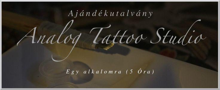 Egyedi, tradícionális kézi tetoválás ajándékba!