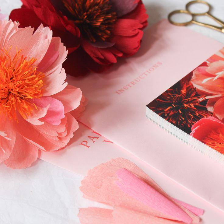Paper Flower Workshop London UK with A Petal Unfolds apetalunfolds.com