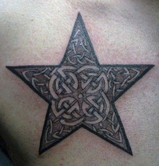 celtic star tattoos