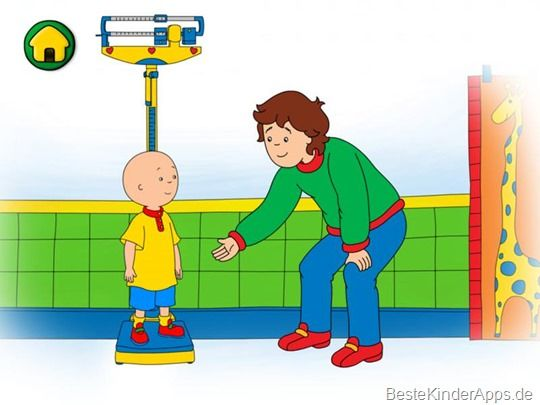 Caillou Spiele