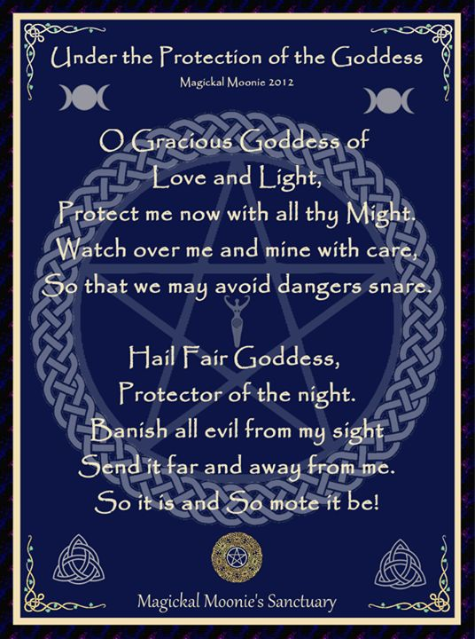 Goddess prayer for protectionWitchy Things, Things Wiccan, Pagan Wicca, Goddesses, Pagan Protective Prayer, Spelling,  Plaque, Wiccan Protective Prayer, Things Witchy