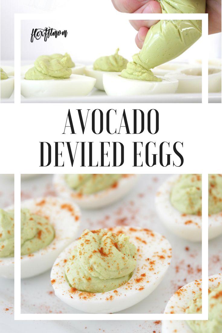 Avocado Deviled Eggs | Paleo | Healthy | Easy | Classic Recipe