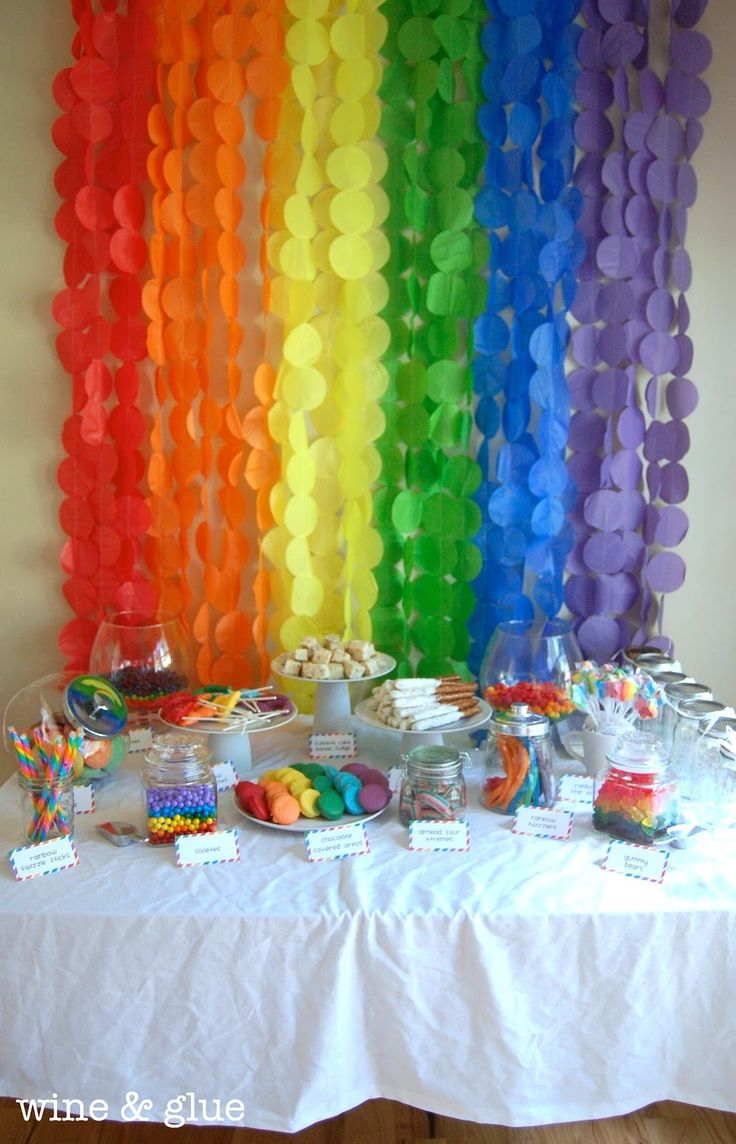 125 best 2nd birthday pocoyo party ideas 2013 images on pinterest rainbow party extravaganza tons of rainbow ideas from wine glue rainbow party amipublicfo Gallery