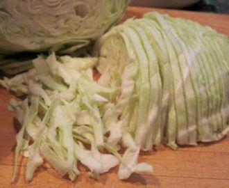 Pasta af hvidkål. Tips til 5:2-kuren.