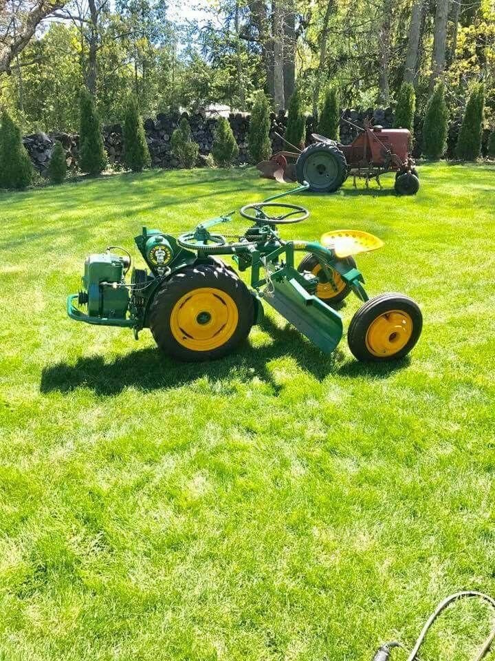 F Ca C B A Cec E B D Antique Tractors