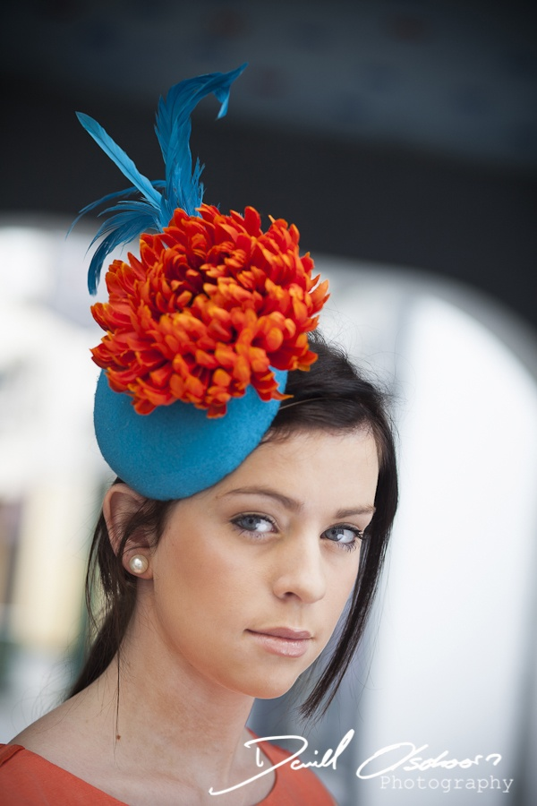 Sinéad Maddn Millinery felt headpiece