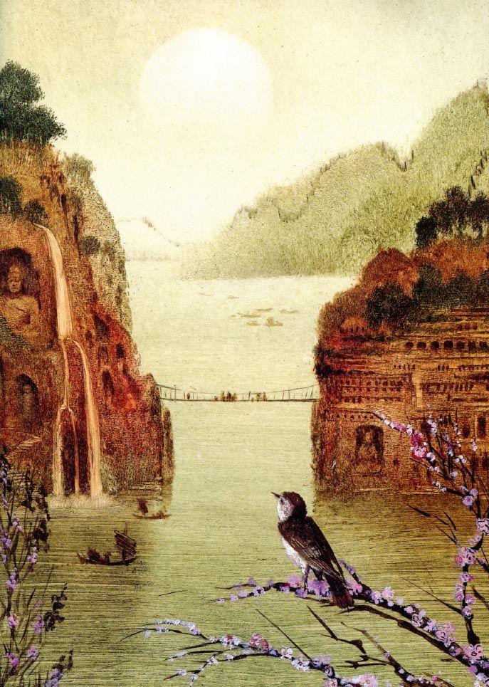 'The Nightingale'. Illustration by Igor Oleynikov