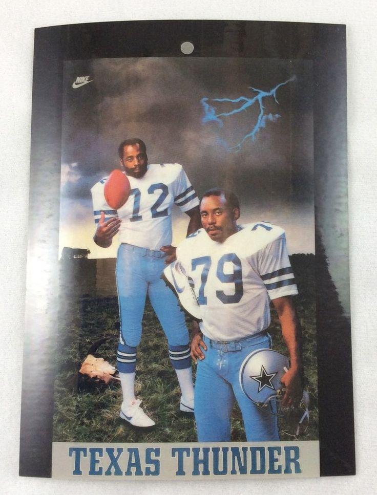 nfl 1982 ed jones harvey martin dallas cow##boys nike ad display piece from $10.95