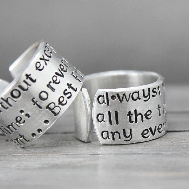 Best Friends Ring Set