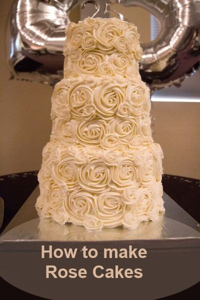 How to make Rose Cakes and other tutorials here.